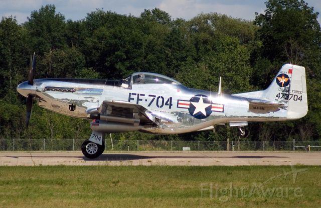 North American P-51 Mustang (NL6188C)