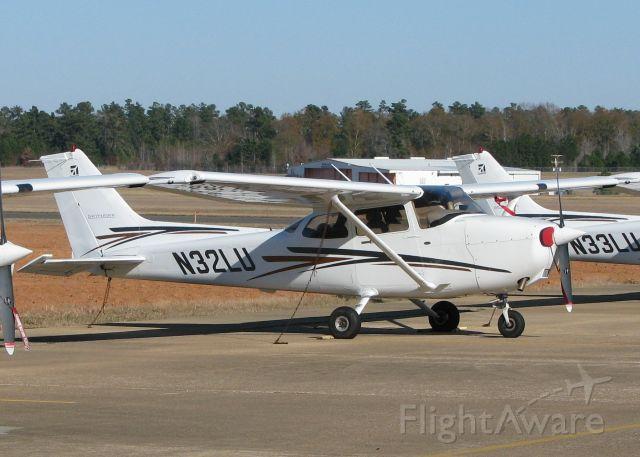 Cessna Skyhawk (N32LU) - Parked at Longview/East Texas Regional.