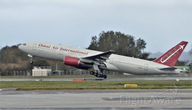 Boeing 777-200 (N819AX) - omni b777-2u8er n819ax dep shannon 10/10/20.