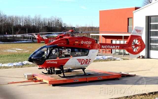 Eurocopter EC-635 (D-HDSF) - ---new pattern EC-H145, ( old: EC-145 T2)----Quelle:DRF