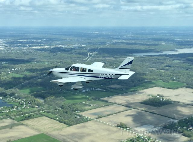 Piper Dakota / Pathfinder (N419CC) - Formation flight to KMIE