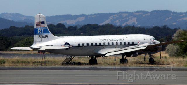 Douglas DC-6 (13-1594) - Parked  06-22-2015