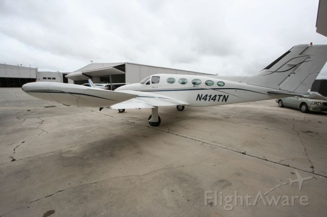 Cessna Chancellor (N414TN) - 414 looking pretty on the ramp FXE Scott MacDonald Aircraft