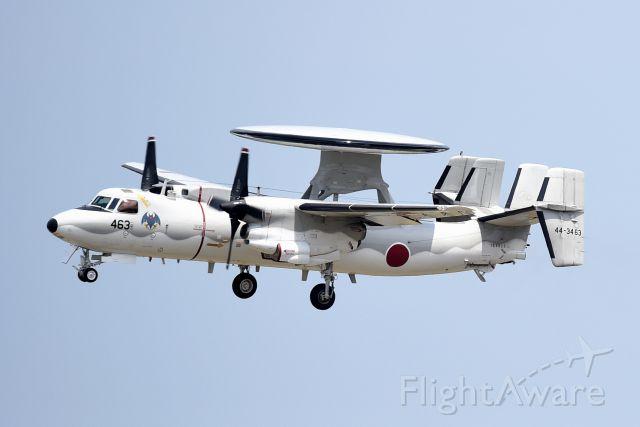 44-3463 — - Grumman E-2 Hawkeye