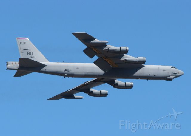 Boeing B-52 Stratofortress (61-0021) - At Barksdale Air Force Base.