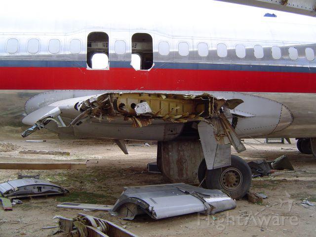 McDonnell Douglas MD-80 — - SCRAPPED