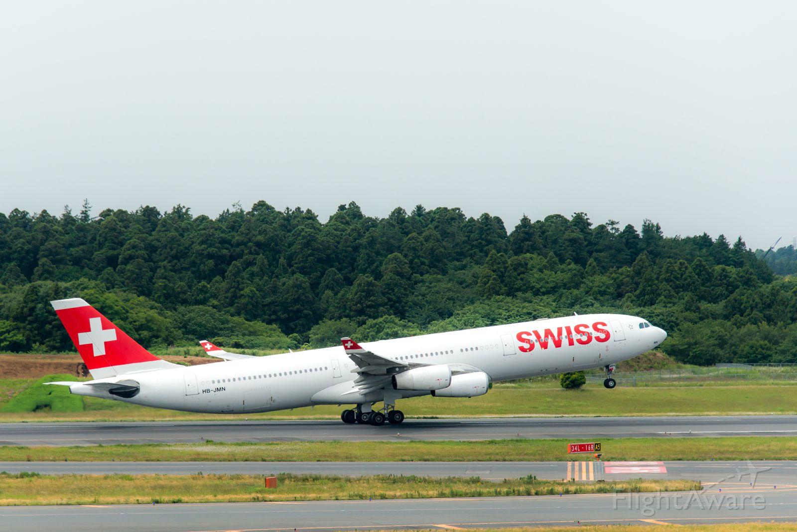 Airbus A330-300 (HB-JMN)