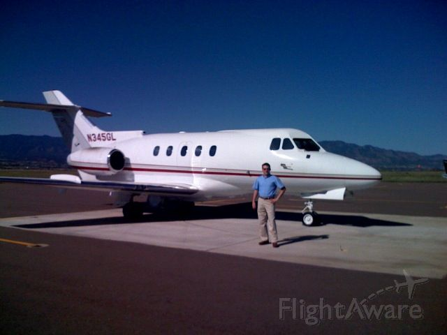 Hawker Siddeley HS-125-400 (N145GL) - This plane has (N) number changed to N145GL