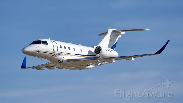 Embraer Legacy 450 (C-GXAS) - Coming back to Canadian airspace as a Praetor 500! Love the new winglets.