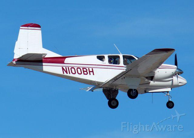 Beechcraft Travel Air (N100BH) - At Downtown Shreveport.