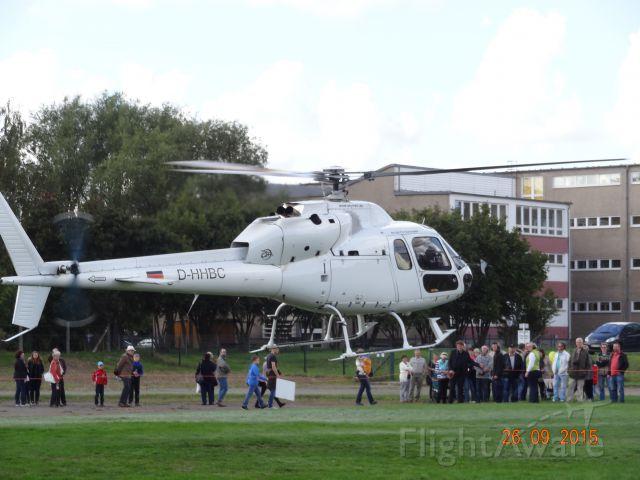 Eurocopter EC-635 (D-HHBC) - SKYheli, D-HHBC Eurocopter AS355F+, first flight:1982