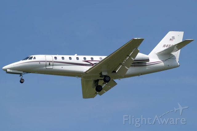 Cessna Citation Sovereign (N468SA) - Landing at KPIT