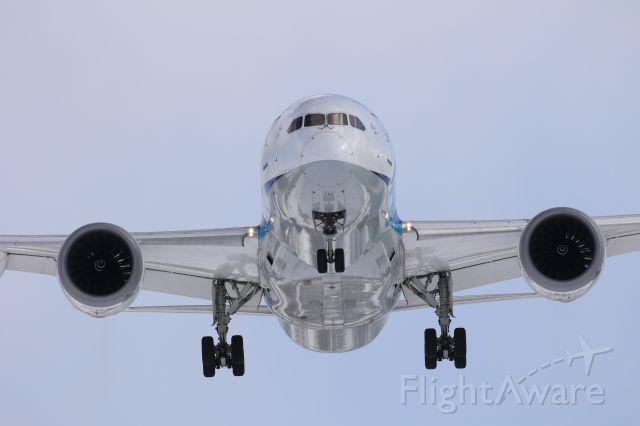 Boeing Dreamliner (Srs.8) (JA821A) - February 18th 2018:HND-HKD.