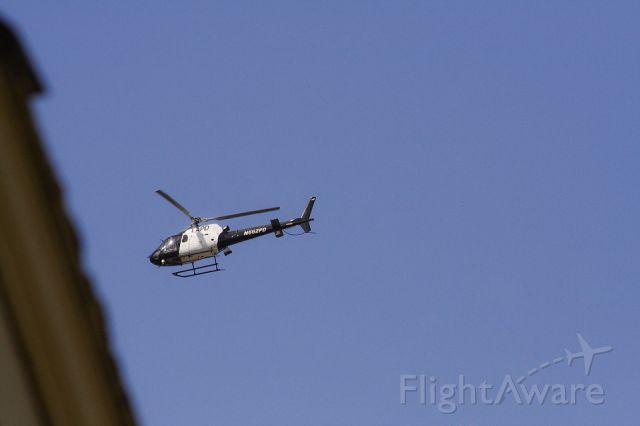 Eurocopter AS-350 AStar (N662PD) - LAPD chopper flies over Los Angeles, California