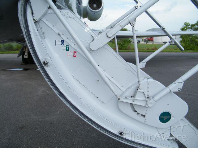 Gulfstream American Gulfstream 2 (N671LW) - The last custome sticker was in 2008.