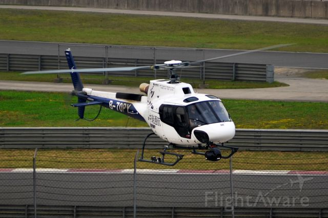 B-70PY — - The aerial helicopter for FIA Formula 1 World Championship Shanghai Racing