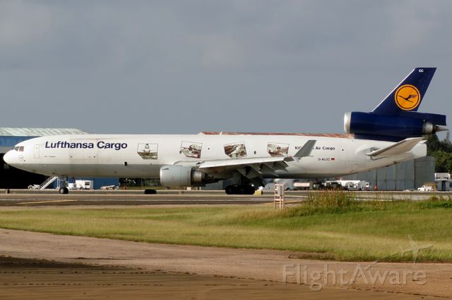Boeing MD-11 (D-ALCC) - 100 years of air cargo!