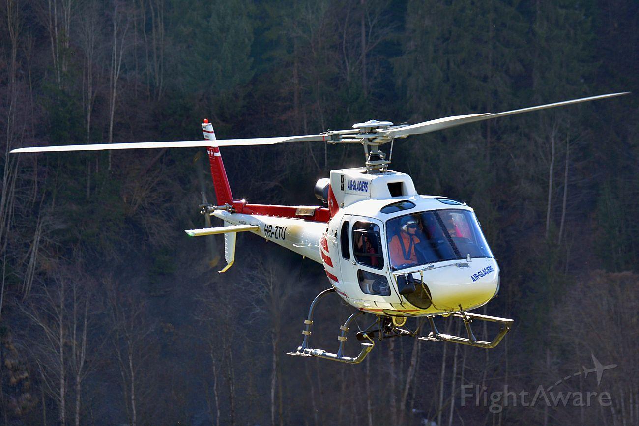 HB-ZTU — - AS.350B3 Ecureuil during flights outside Château-dOex (Switzerland)