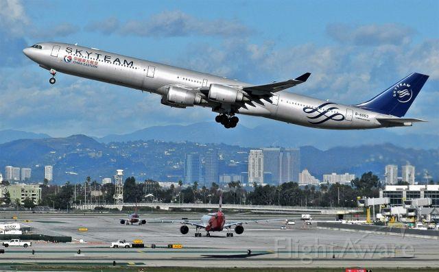 Airbus A340-600 (B-6053)