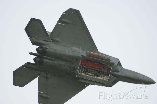 — — - F-22A Raptor