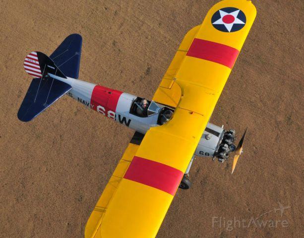 N68W — - Overhead an N2S-3, N68W during flight in North Alabama. Photo: BlakeMathis.com