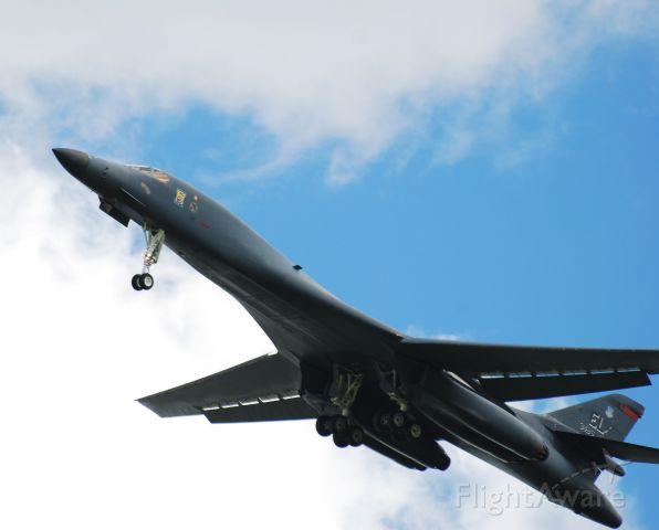 Rockwell Lancer (86-0134) - B-1B 86-134,34th Bomb Squadron (Thunderbirds), Ellsworth AFB, SD