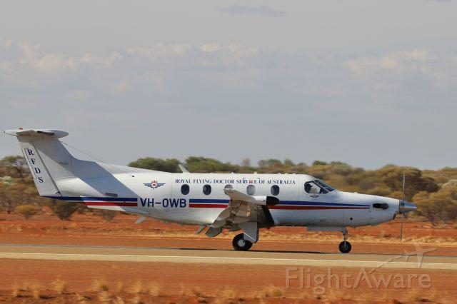 Pilatus PC-12 (VH-OWB)
