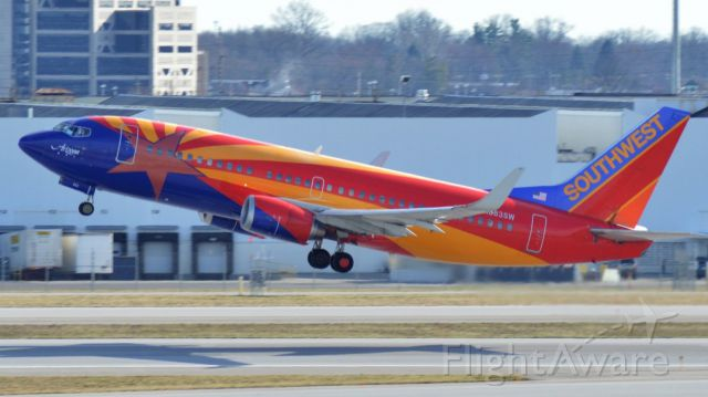 Boeing 737-700 (N838SW) - Southwest Airlines