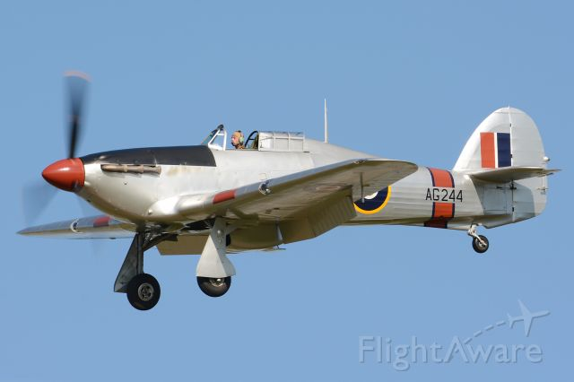 Hawker Sea Hurricane (G-CBOE) - OTT19