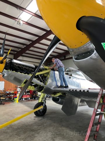N887XP — - prepping for first flight 7-14-2018- Tom Reilly