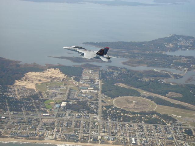 16-6628 — - My last Rhino flight over the First Flight Airport and Wright Brothers Memorial.