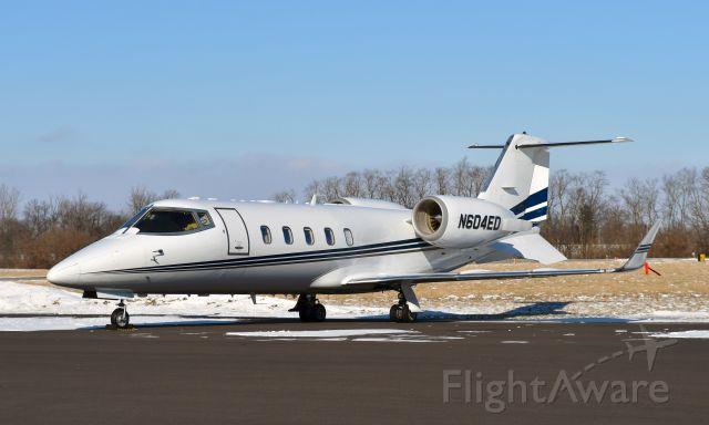 Learjet 60 (N604ED) - Learjet 60 N604ED in Springfield-Beckley