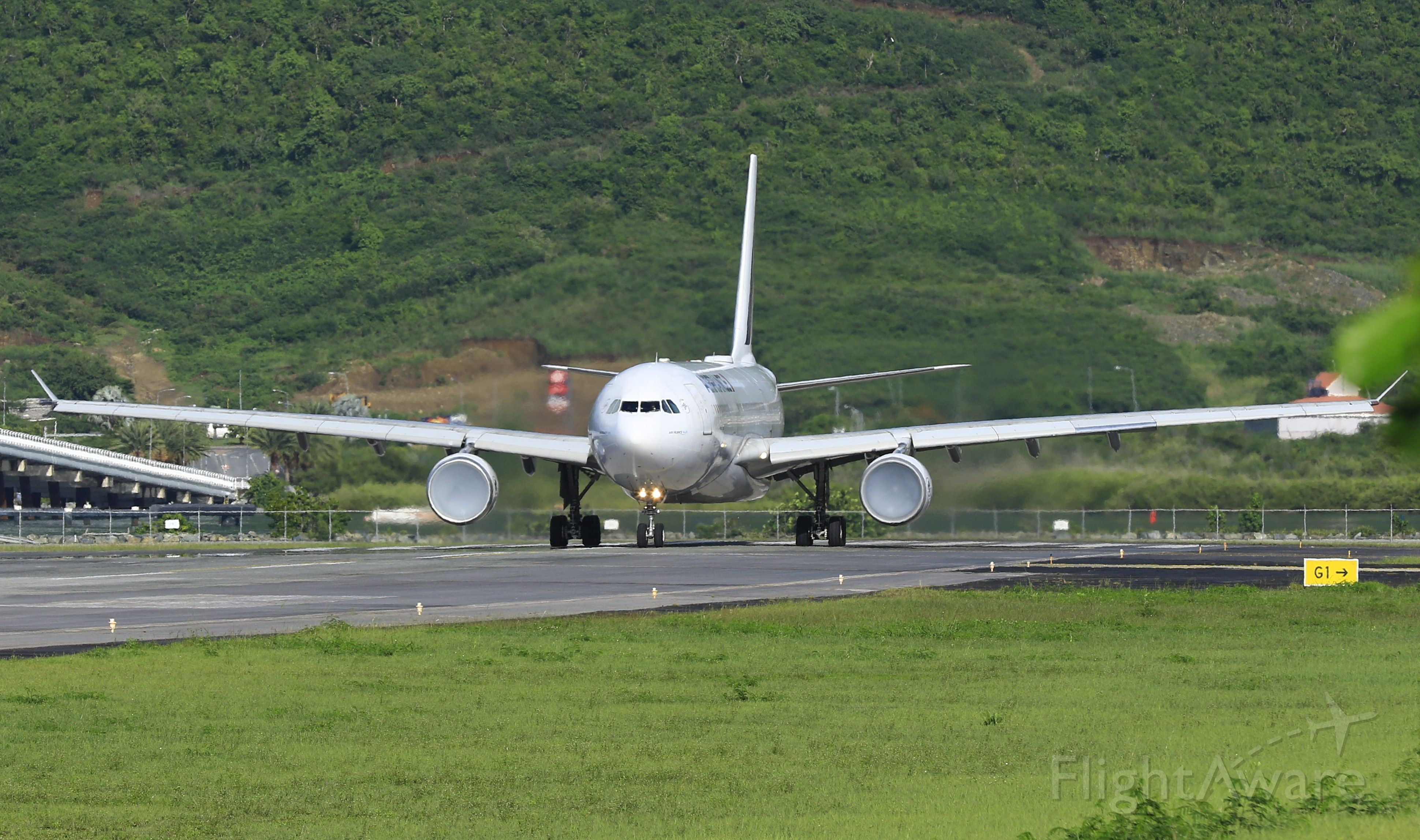 Airbus A330-200 (F-GZCL) - Air France stuff engines on take off