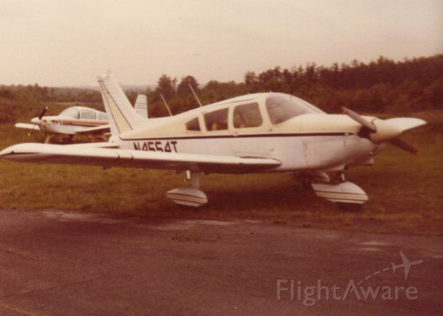 Piper Cherokee (N4554T) - As it looked in 1981
