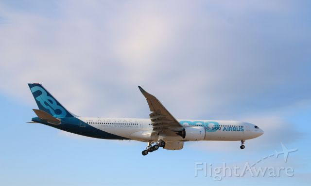 Airbus A330-300 (F-WTTE) - In town for flight testing.