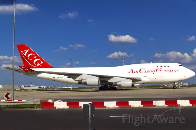 Boeing 747-400 (D-ACGB) - old stuff,crounded in Frankfurt, airline closed 2013