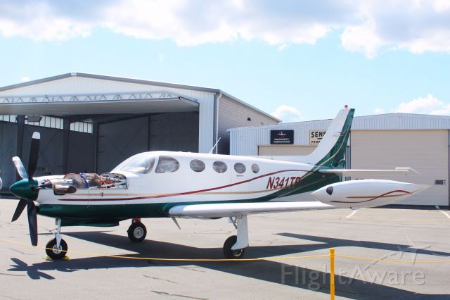 Cessna 340 (N341TP) - View at full for best quality