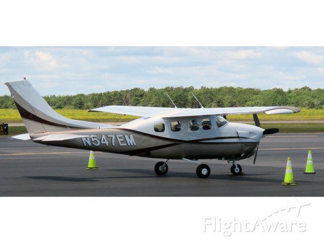Cessna P210 Pressurized Centurion (N547EM) - A very nice pressurized two ten!