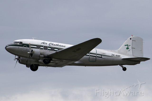 Douglas DC-3 (ZK-AWP) - on 10 Dec 2016