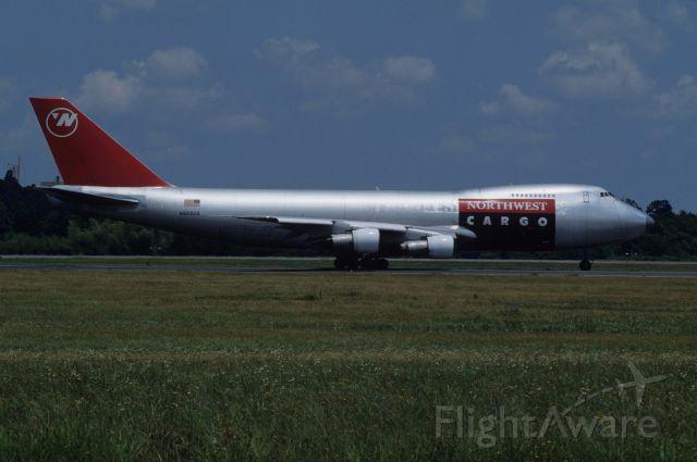 Boeing 747-200 (N629US) - Departure at Narita Intl Airport Rwy16 on 1991/06/09