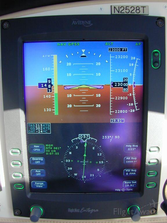 Cessna 400 (N2528T) - Burning 16.5 GPH