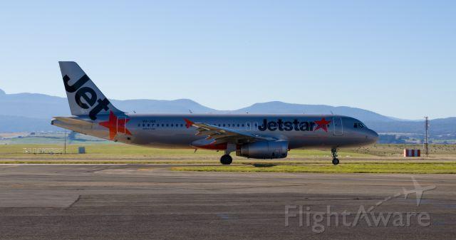 Airbus A320 (VH-JQX)