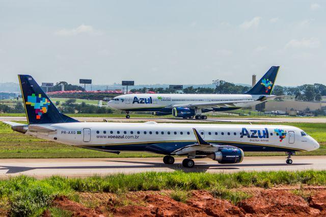 Embraer ERJ-190 (PR-AXG) - Azul Linhas Aereas - Embraer ERJ-195ARbr /Registration: PR-AXGbr /br /Fotografia: Marcelo Luiz