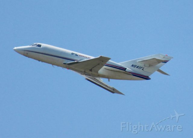 Dassault Falcon 20 (N541FL) - At Shreveport Regional.