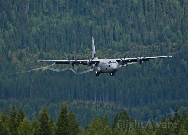 Lockheed C-130 Hercules — - Norwegian Air Force landing at Rena Airport, Norway