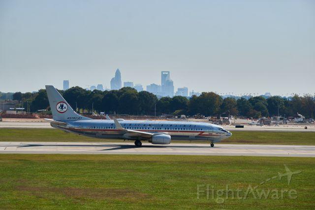 Boeing 737-700 (N905NN) - Astrojet Livery, Take-Off roll on Rwy 18C