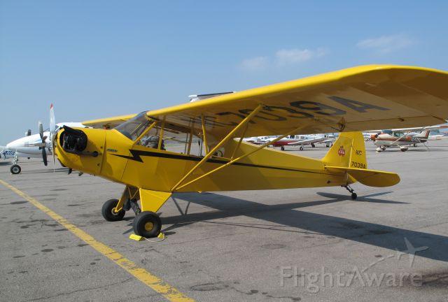 Piper NE Cub (N7039A) - A J3.