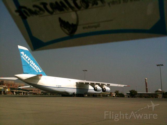 Antonov An-124 Ruslan (UR-82008) - My friend Nisar Asadi shot this Photo