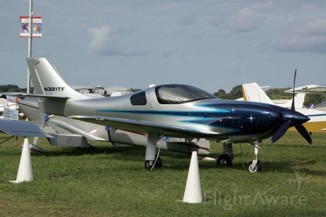 Lancair Legacy 2000 (N321TF) - The very good looking spaceship.
