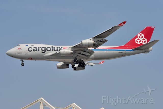 Boeing 747-400 (LX-RCV) - 23-L 07-22-21
